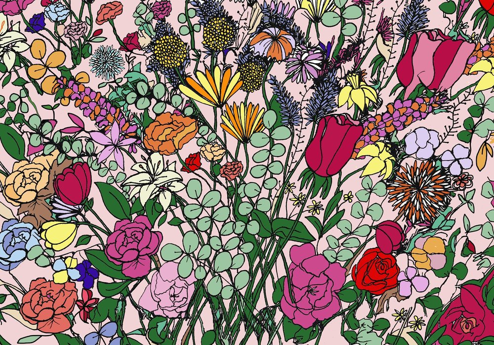 Can you find the Easter egg hidden among the flowers?  Source:  Bloom and Wild
