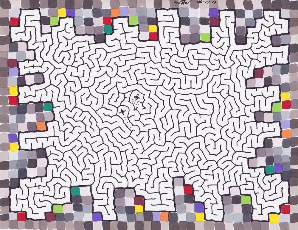 Color Blocks Maze