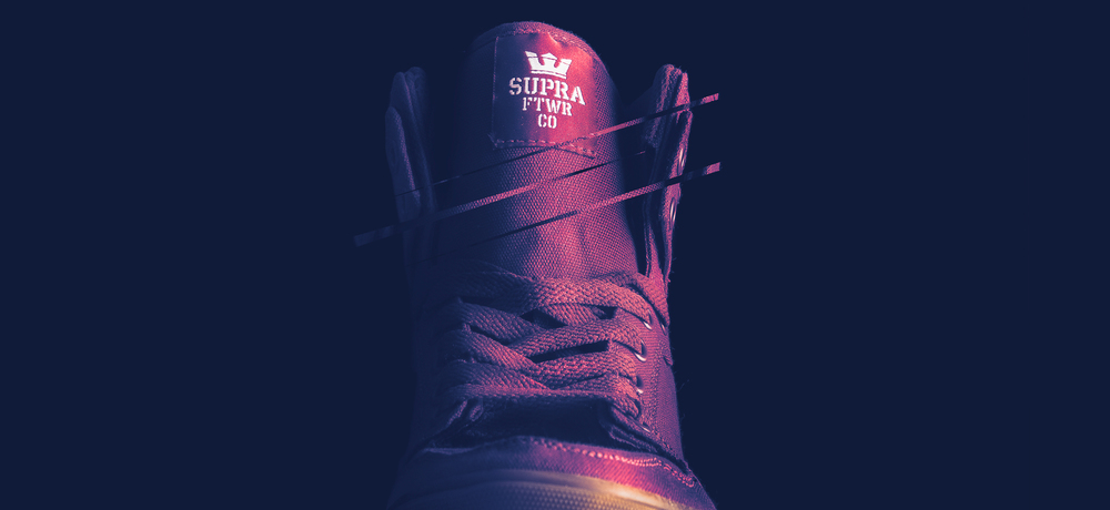 Supra Product Photography Shoe