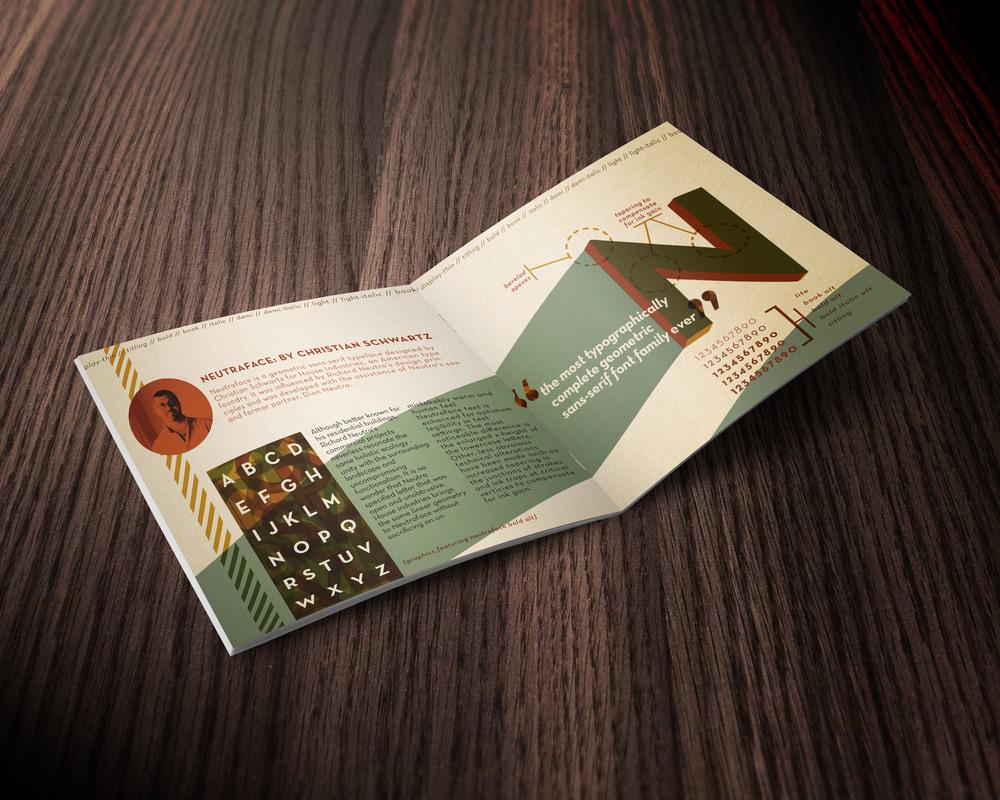 Neutraface Info-Pamphlet