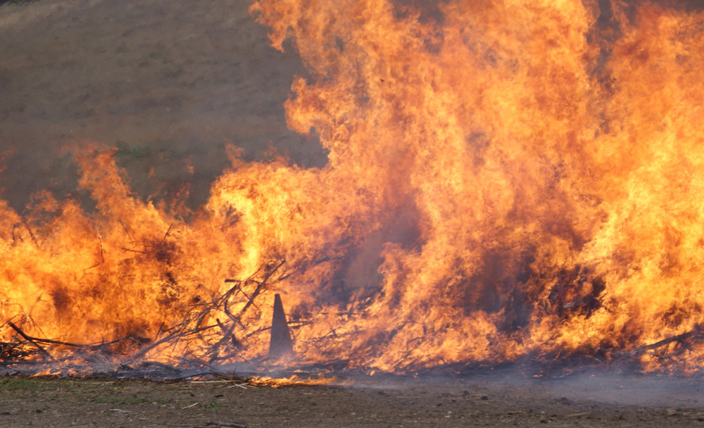 Ritual Firing with Ventura County Fire Department