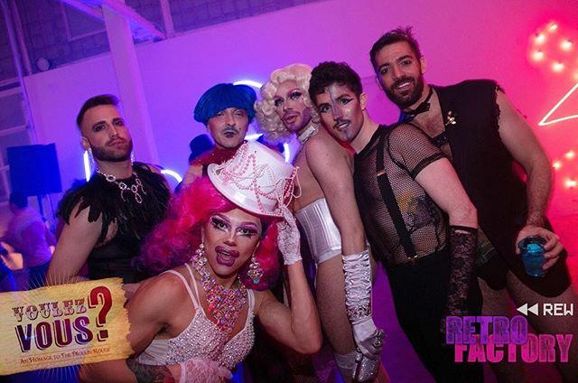 *** #voulezvous #retrofactory #retrofactorynyc #moulinrouge #moulinrougeparty #instagay #danceparty #pride #RetroRewind #RewindToReplay #pushplay #queer #queerparty #lgbt #lgbtq #lgbtqia #flashbackfriday #gay #gayparty #instagay #instamood #lesbian #trans #diversity #nycnightlife #queerqueens #licartists #plaxallgallery @theGarrettSwann @theGayGaston @disssgrace @GlowJob.Queen @chaddyboychad @justsucia @brightlightx2 @theatrec.ny @the_danielnardicio @carmesto1 @licartists @plaxallgallery @thatveganjeremy @queerqueensnyc