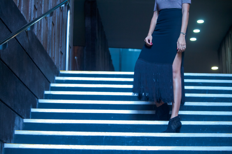 Skirt: Reformation| Ankle Booties: ZARA