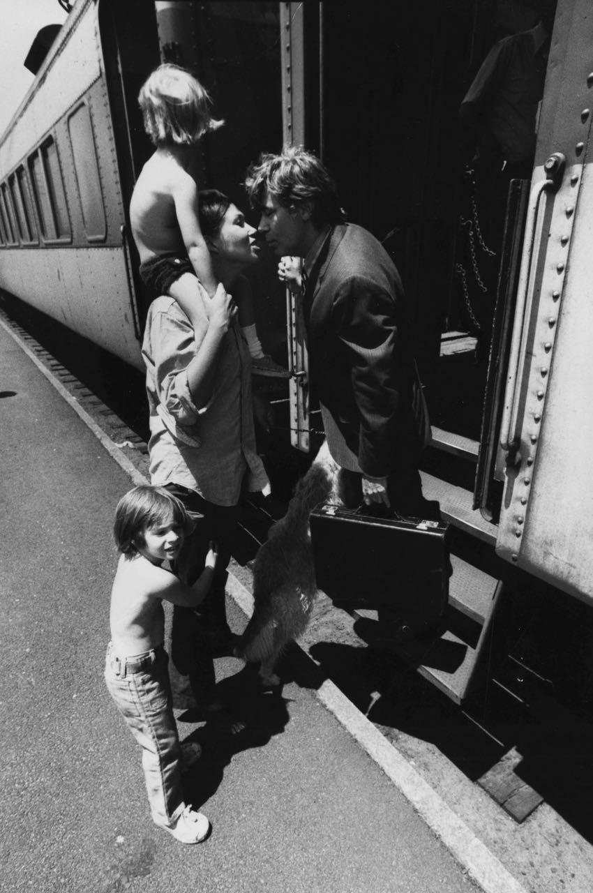15_15_Wife kissing husband goodbye at a train station #2_Dan Wynn Archive.jpg