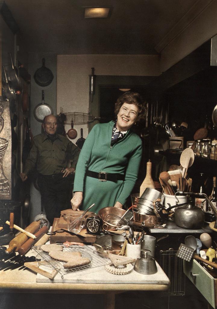 Julia Child, 1973