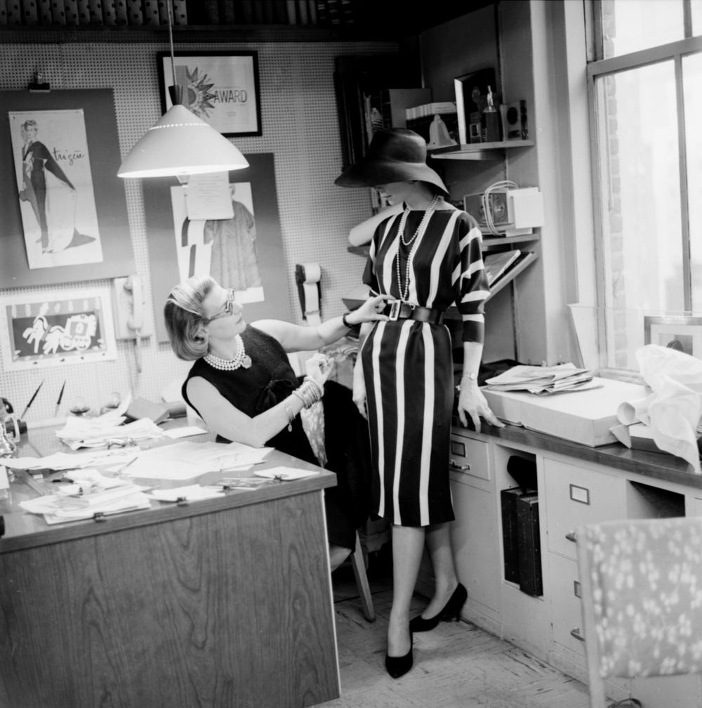 Pauline Trigere, 1961