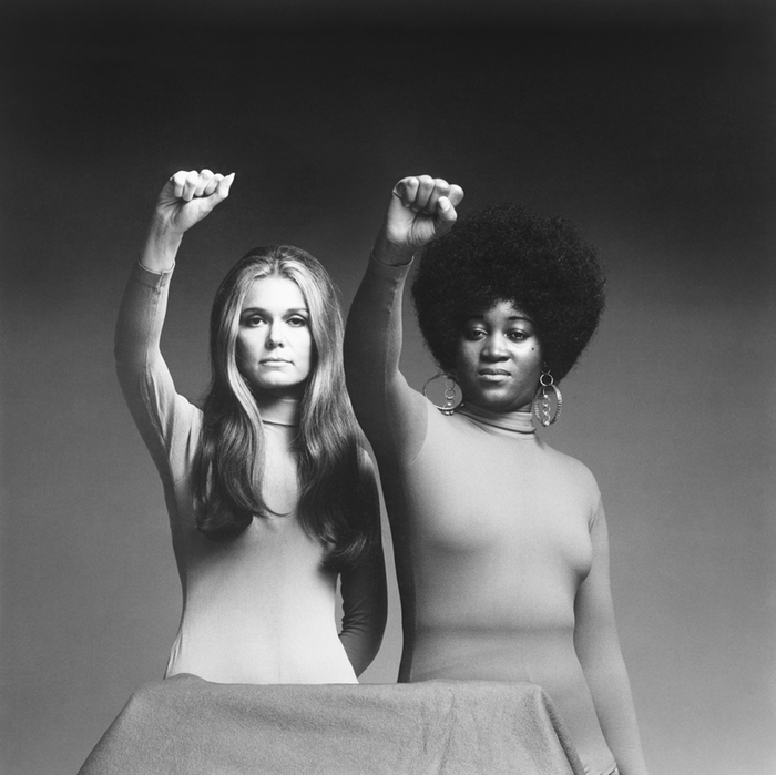 Gloria Steinem and Dorothy Pitman Hughes, 1971