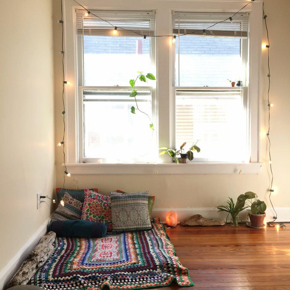 meditation nook mindful naturopathic medicine mind-body