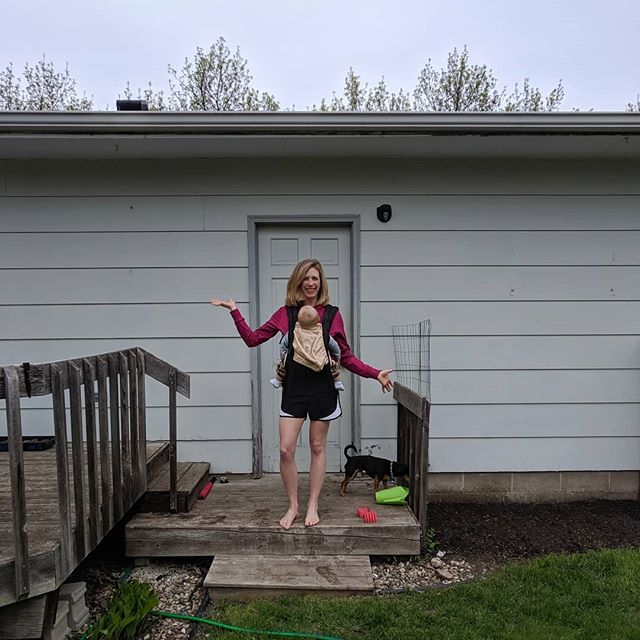 This is not your typical graduation picture, but it is mine!  I didn't walk in the graduation ceremony last week but I did ask my husband to take a picture of me in our backyard just minutes after I presented my last final.  Two years of staying up late and waking up early to watch lectures or work on homework, I can finally close that chapter of my life.  I graduated with an Associate's degree in Architectural Technology from Hennepin Technical College. I had a great experience and would highly recommend it.  So what's next?  I will continue working at CB Designs in downtown Alexandria assisting with drafting house plans for new builds and remodels. I love it and feel like I finally found the career I was meant to be in all along.  It's kind of crazy to think how society puts so much expectation and pressure on eighteen year olds to pick their educational and career paths at such a young age.  Going back to school later in life with little kids and adult responsibilities to take care of was a leap of faith. But by doing so, I feel like I am more happy and an overall better version of myself.  Cheers to new beginnings!