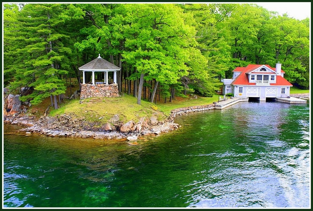 for wolfe island cottages lakeside lake boathouse images islands thousand pinterest best homes in rent living the on