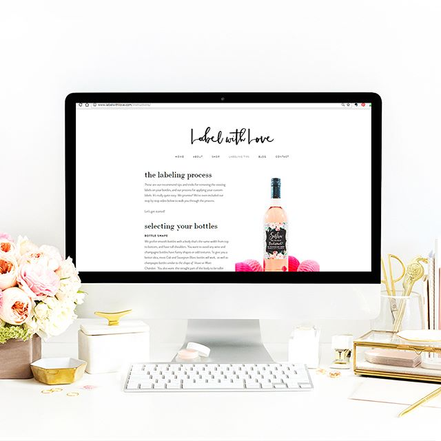 Wondering which bottles work best for your labels? Don't worry...we've got you covered! 🙌 Stop by our Bottle Selection guide on our website as we walk you through the process for choosing the best bottles for you labels. 🖨 We even have a handy printable label guide so you can test our all of our label sizes before you purchase or go shopping for your wine and bubbly. . Need help removing the existing labels from your bottles? Check out the Labeling Tips section for our recommended steps to remove the original labels from your bottles and how to apply your custom labels to avoid bubbling or wrinkling. 🎥 And for all you visual learners out there, we even have videos walking you through process! . Also, don't forget to drop by our 📌Pinterest page for our curated list of wine and champagne brands we guarantee will work for each of our label sizes. . Finally, if you have any questions at all about the ordering process, custom designs, or collaborations, feel free to send us a message 💌 via the Contact page on our website. Our dedicated team is always happy to help! 💕
