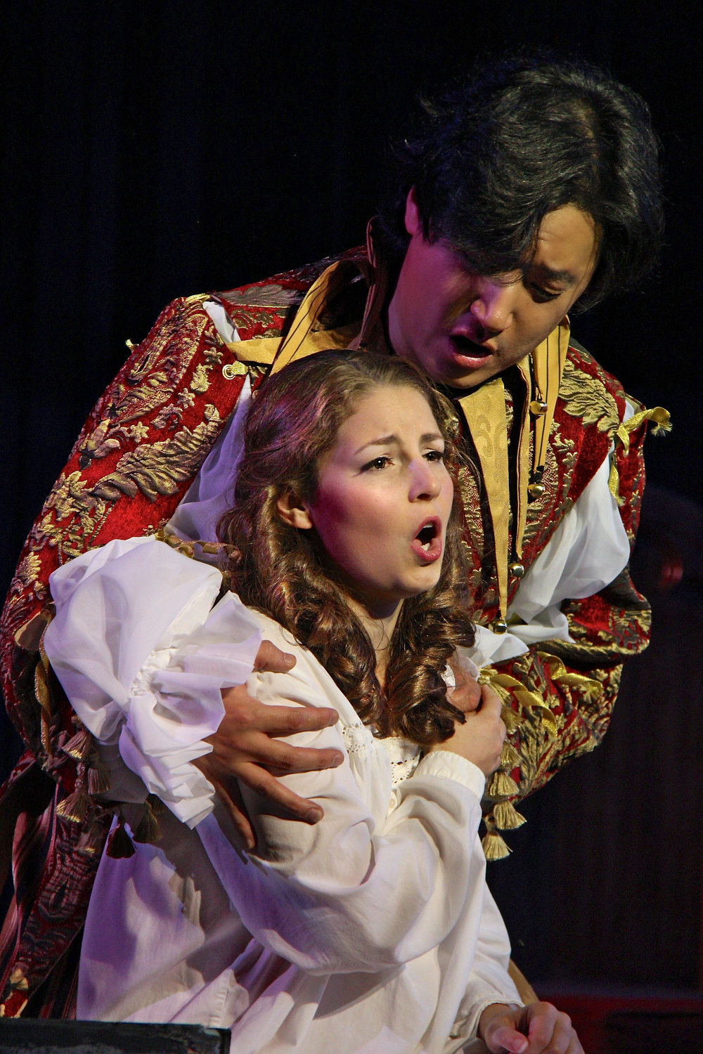 As Gilda (Rigoletto) with Pacific Northwest Opera