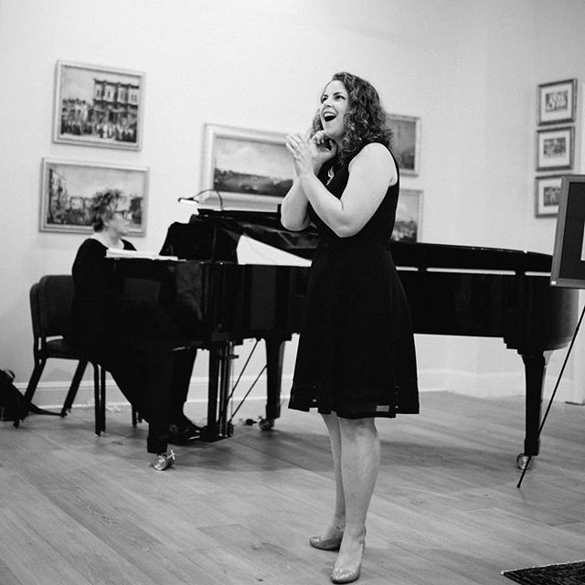 Recitals are a blast! A huge thanks to @ashleycemrick for this beautiful photo 📸 . . . . #soprano #operasinger #singer #classicalsinger #classicalmusician #recital #recitalist #artsong #performance #concert #pianist #collaborativepiano #bernstein #donizetti #sondheim #cipullo #gounod #operaorlando