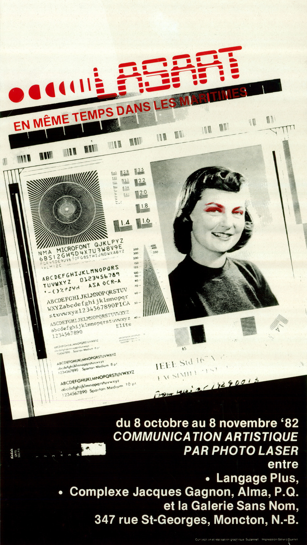 Document original : Affiche du projet en 1982.
