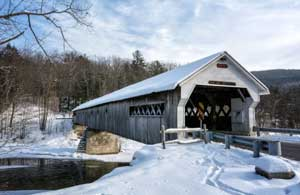 West Dummerston, VT covered bridge.