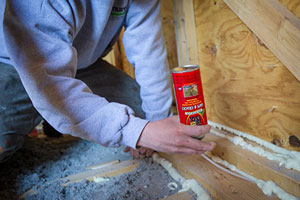 PROPERLY SEALING AN ATTIC -