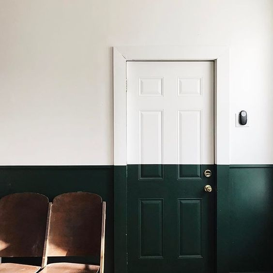 Half Painted Door via Instagram by  Esther Clark