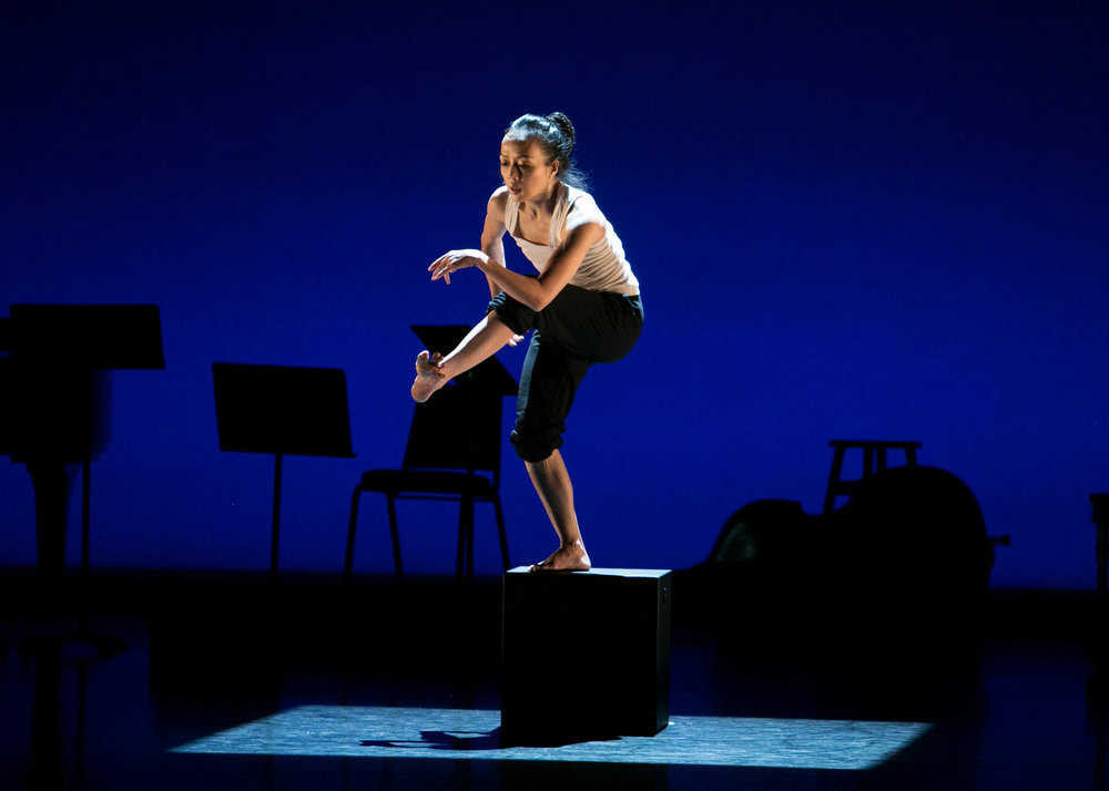 Upclose: Footwork. Vail Dance Festival: ReMix NYC, Directed by Damian Woetzel. Friday, November 6, 2016. New York City Center. Credit Photo: Erin Baiano