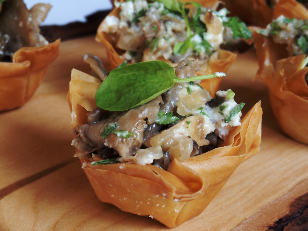 Copy of Copy of Mixed Mushroom Tartlets