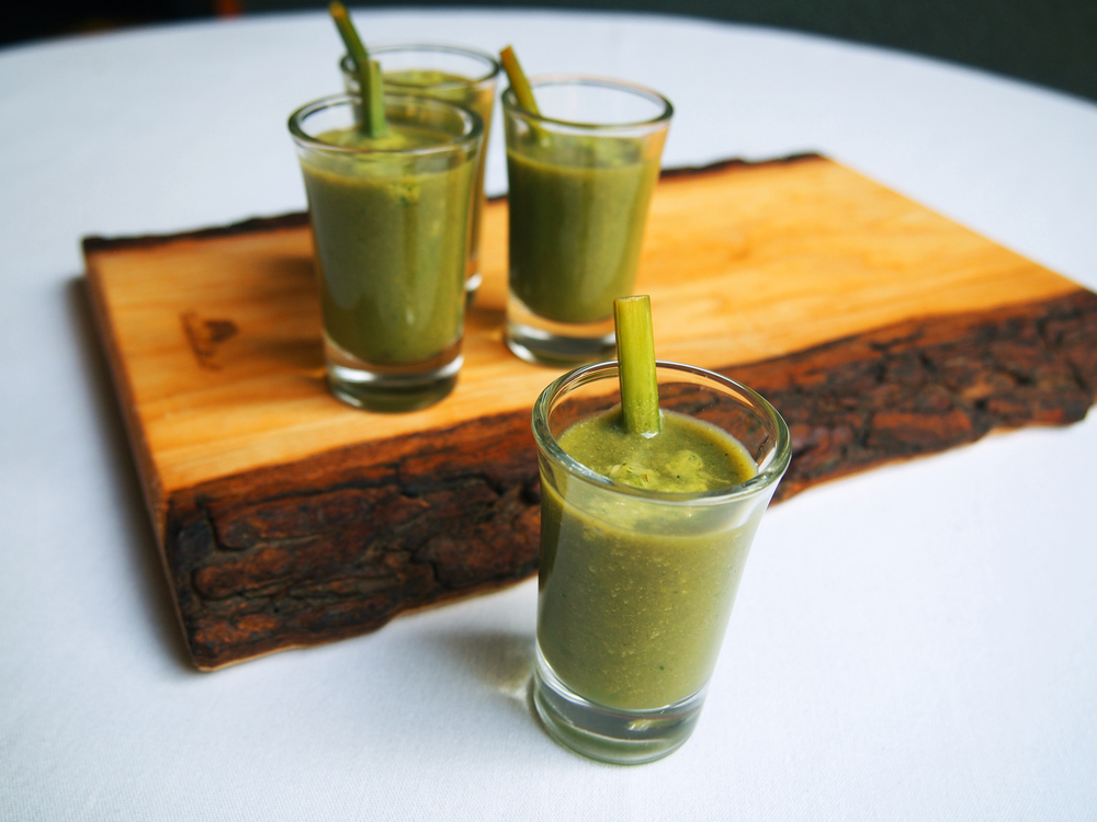 Copy of Copy of Wild Leek Soup Shooters