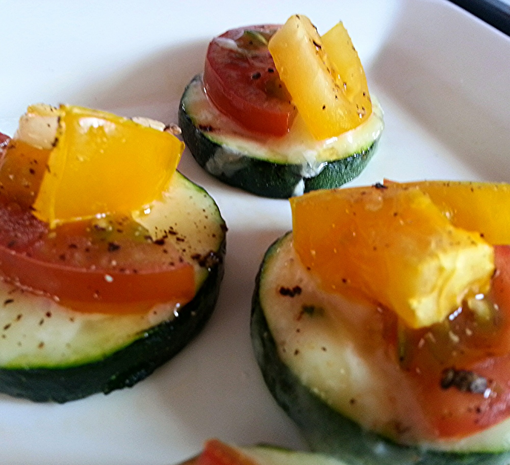 Copy of Copy of Mini Zucchini Pizzas