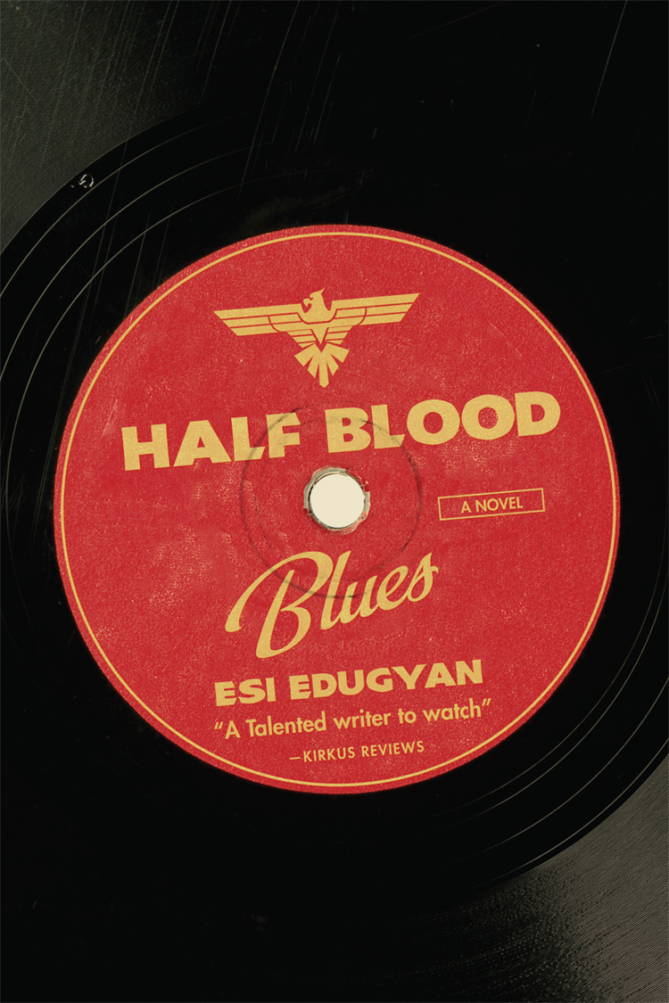 """It is nominated for the Booker, the Giller, the Rogers Trust. It combines Nazis and jazz and violence and many lonely hours, starving in a squat in Paris. And it is beautiful: Half-Blood Blues is pitch-perfect. It is the voice that does it. Written in a 1930s dialect that never strays off-tempo, this novel is the closest thing to real jazz since  Coming Through Slaughter.    Esi Edugyan, a self proclaimed """" little kid from Calgary – this girl from the colonies"""" has been called a prodigy by the Booker Prize jurors. And I see it. With her mournful protagonist Sid, she has crafted a flesh and bones bass player from Baltimore, stranded in Berlin as the Nazis rise to power. He rolls with Chip (an American drummer), Paul (a Jewish piano player) and a kid-genius trumpet player, Hieronymus Falk.   Hiero is the one with the problems. An Afro-German who is stateless in Germany and an enemy in France, in the first scenes Hiero is arrested. After that, the novel tries to set events straight, and, like real life, it leaves much to be imagined. Instead we are left with the real fear: what it would be like to have our friends disappeared, what the train station felt like on the day people fled Paris. Themost gruesome, gorgeous scene of all– when Hiero and Sid visit a zoo in Hamburg. The exhibit is an African family living in their hut, a high pointed fence around them, caged like wild cats.   Hot off the presses, nominated for everything– reviewers are hard on this book, mostly because they want answers, and answers don't come easily here.Half-Blood Blues won't march towards an inevitable climax.Like jazz, this novel seems to duck behind corners, switch directions. Yet somehow the story, in all its depravity, still manages to swing."""
