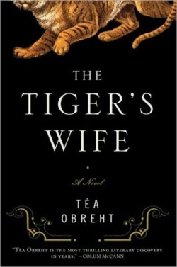 "The youngest and brightest of them all,  Tea Obreht  is garnering more-than-lavish attention for her debut novel,  The Tiger's Wife . The novelist herself– a mere TWENTY-FIVE YEARS OLD– is what most of the buzz is about, because she's the youngest in the  New Yorker's Top Twenty Under Forty  list, because she's only published in the hugest of magazines and studied at the very best schools, because she's a magical realist, and nobody's a magical realist anymore.    If anything, that is what struck me as so sensual and unexpected about The Tiger's Wife. Obreht writes in the slowest, most deliberate fashion, piling gorgeous descriptions one after another after another, and layering generational stories with fairytales. The through-line of the story is in fact a re-telling of the Grimm's "" Godfather Death ,"" one of the oldest tales in modern fiction.    So, is Obreht famous because she is a young person who writes like an old person? Her protagonist is a Serbian doctor whose most treasured memory is of an elephant marching through her war-thrashed city. There is a deaf-mute who is beaten by her husband the butcher. There is a plagued family of gypsies who digs up a body in a suitcase. And there is a grandfather, whose fascination with tigers stems from his life in the old village. This is old timey stuff, but somehow, Obreht keeps it feeling young. All the critics expect great things, but I'm not as eager for Obreht to smooth her style. I liked this book, and I'll recommend it, mostly because in The Tiger's Wife, I still saw evidence of Tea Obreht's young, sometimes uncontrolled ways."
