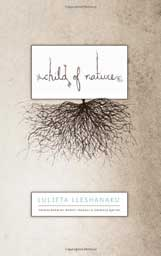 """MY FRIENDS' BOOKS ARE THE BEST BOOKS!   Luljeta Lleshanku's miraculous collection """" Child of Nature """" brings serious poem-tears to my poemy eyes. In her second translated collection and her ninth book of poetry, Luljeta cleaves you open with tales from her broken country Albania, then fills you up with sweet little snippets from our shared humanity. """" Two people form a habit, writes Lleshanaku; Three people make a story."""" In Las Vegas, Luli invited me to join their family! They cooked Albanian food and told me everything. I miss my """"adesh"""", her daughter Lea, and her stunning daughter Lodia– a threesome to be reckoned with.  Buy this for your whimsical granny, pining for the old country."""