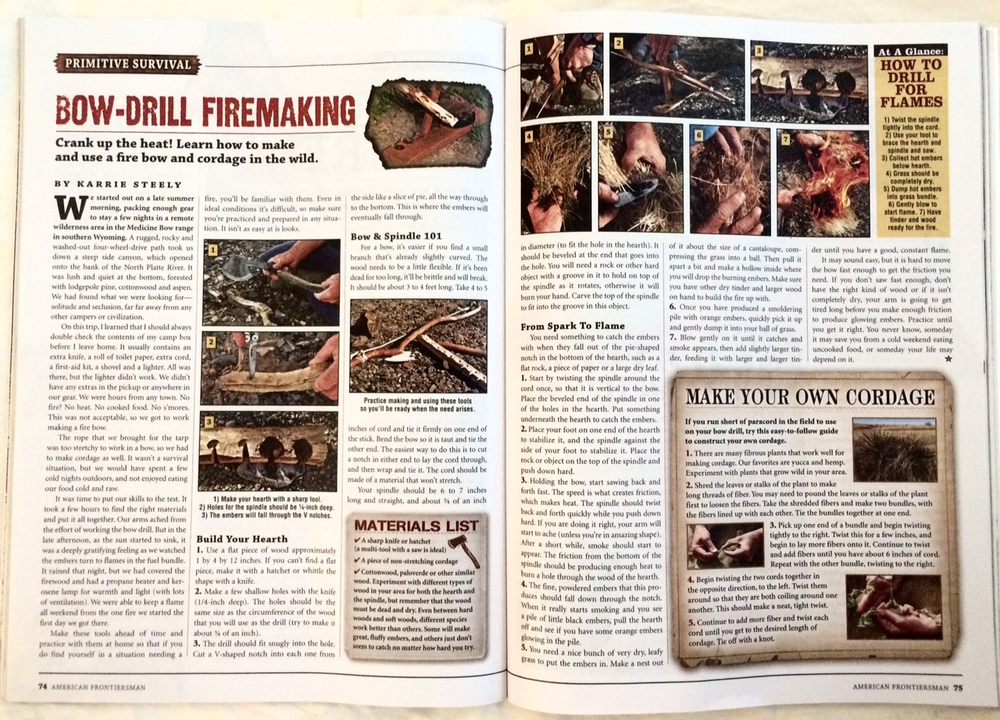 American Frontiersman, Issue #174