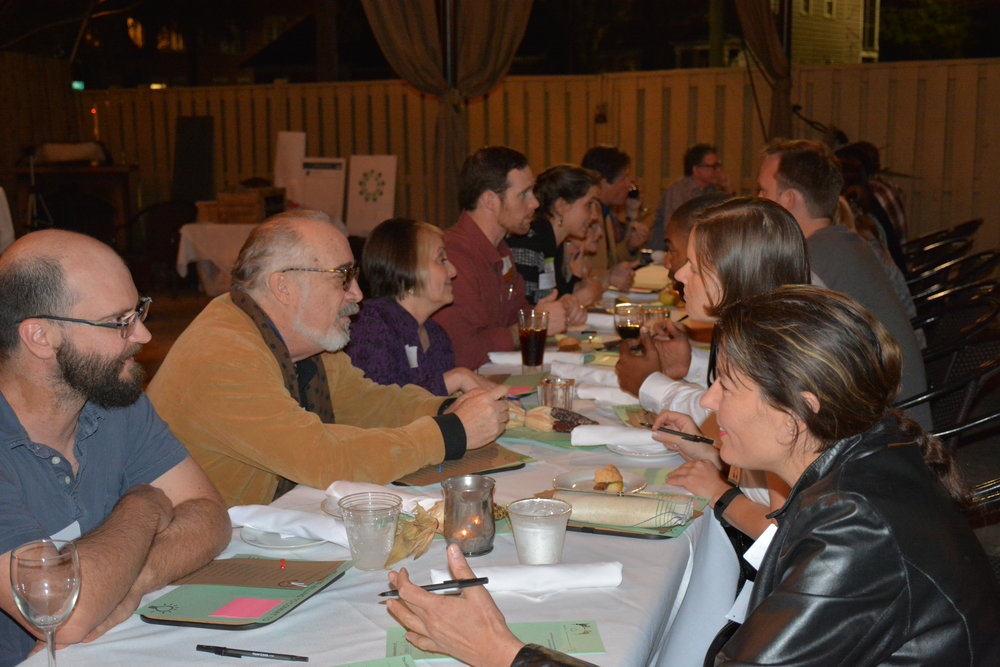 A Green Speed Dating event, designed to facilitate interaction between local businesses.