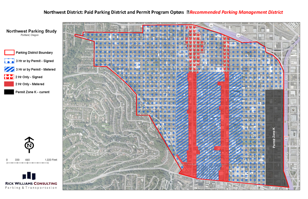NW Portland Parking Plan (Portland, Oregon)