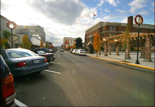 Downtown Parking Plan (Oregon City, Oregon)