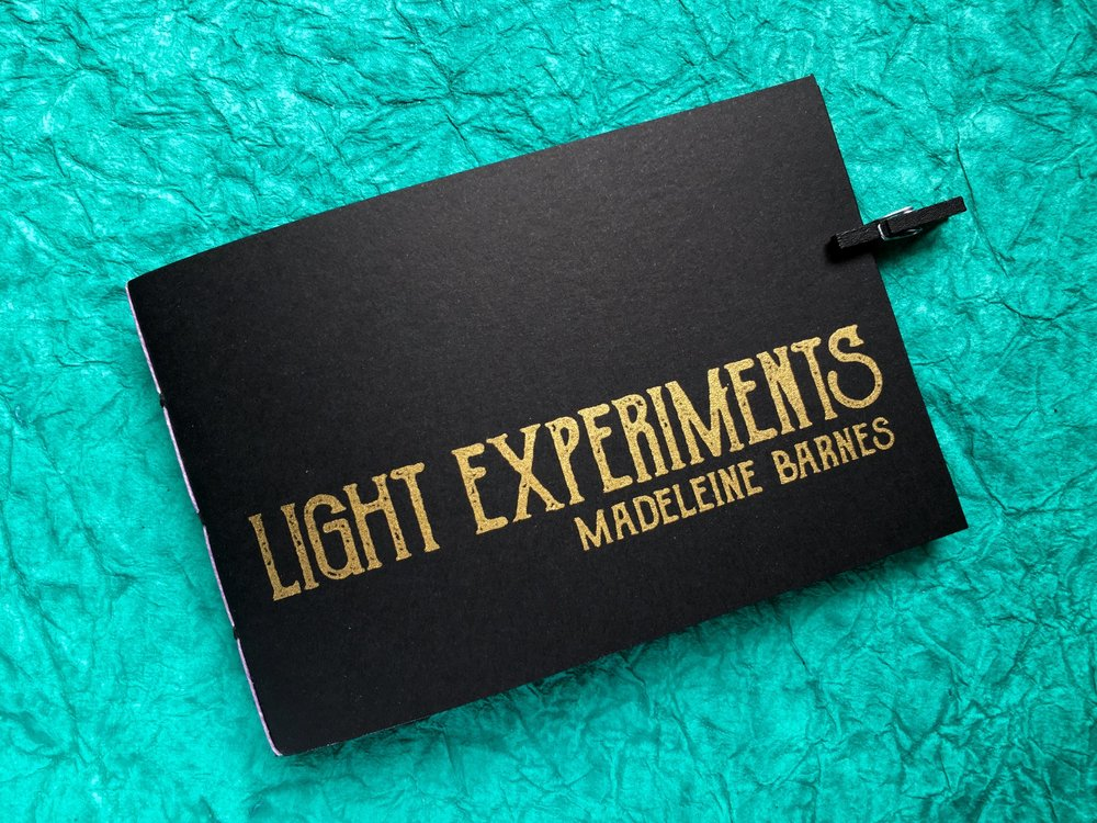 Light Experiments - Visual Poetry by Madeleine Barnes