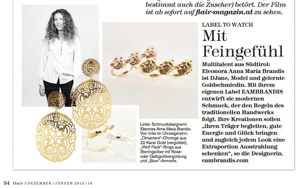 press appearances of eambrandis jewellery and its designer ella, Attraktive mobel