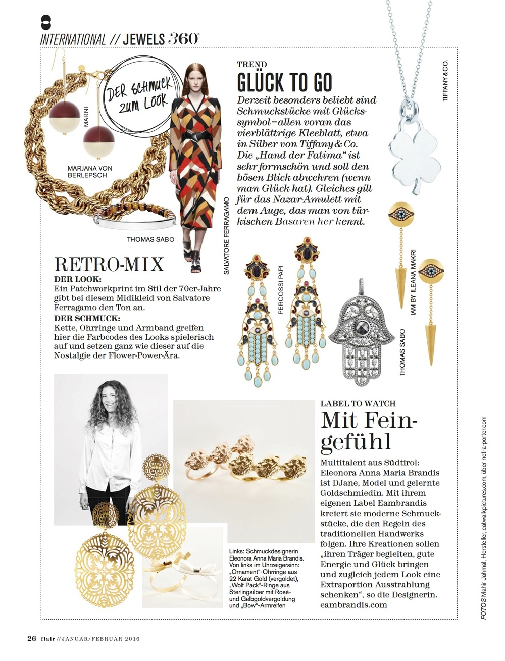 fashion flair magazine eambrandis jewellery jewelry feature report young designer vienna