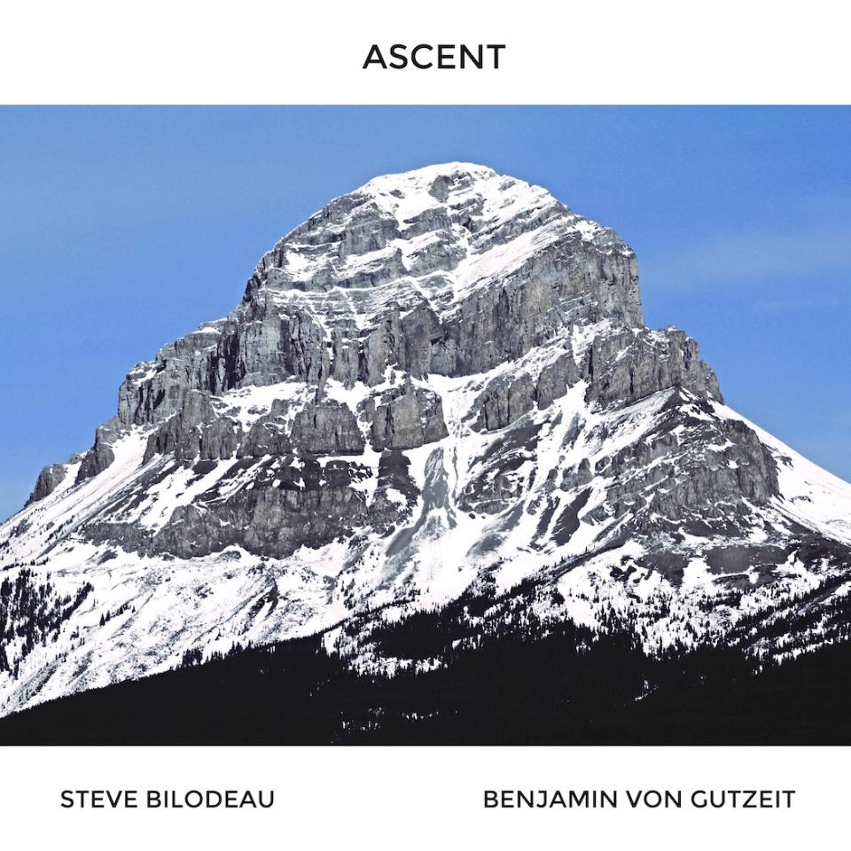 Album artwork for  Ascent , Steve Bilodeau's second album.
