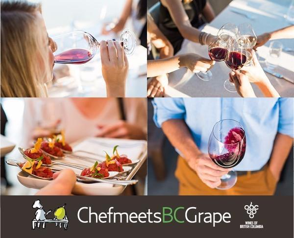 chef meets bc grapes