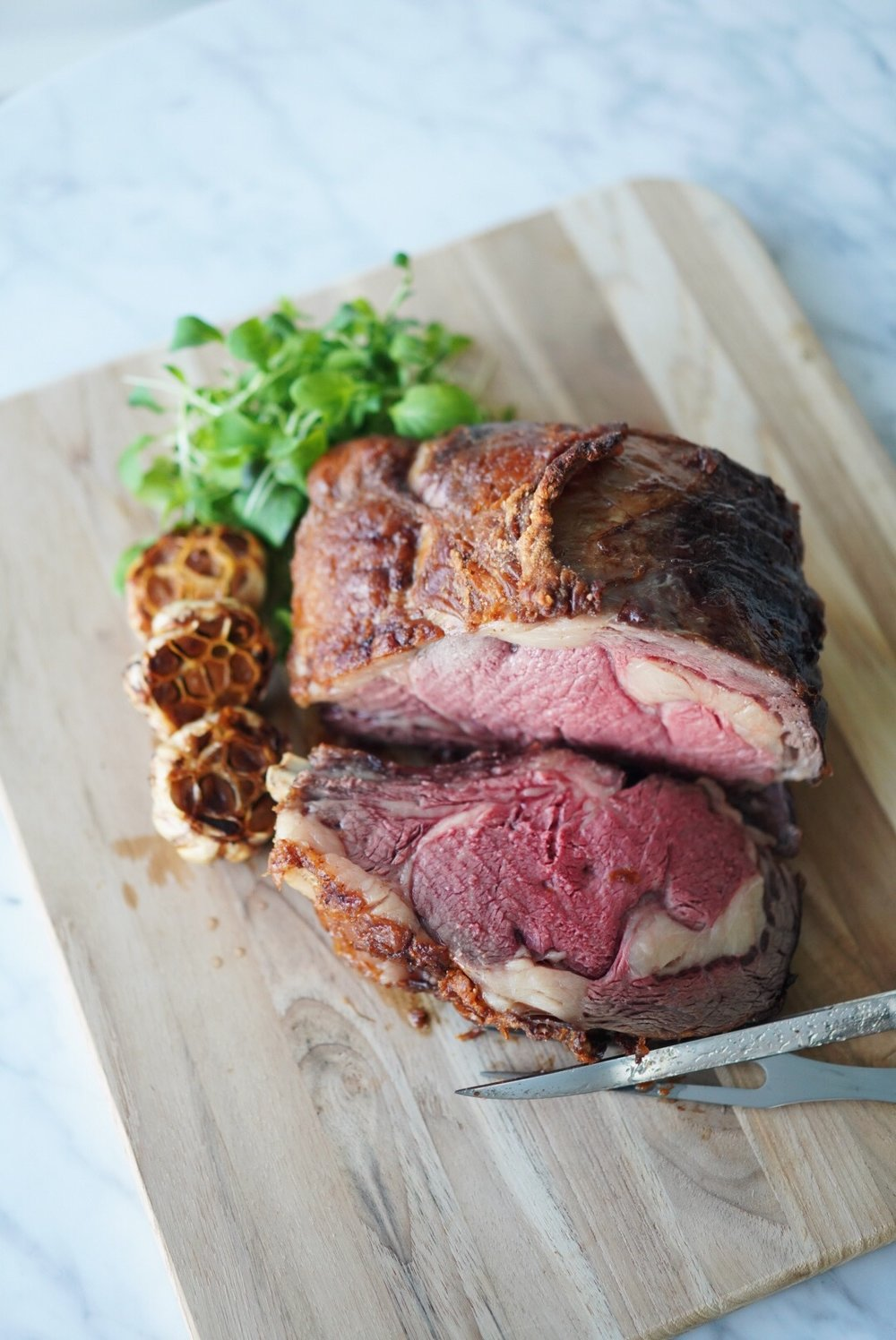 bone in rib roast