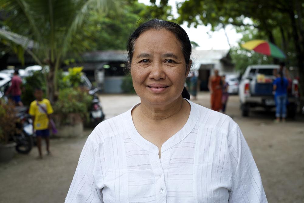 Dr. Cynthia Maung (Credit: Dene-Hern Chen)