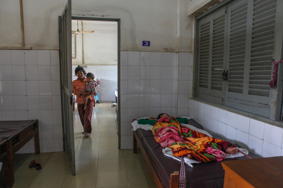 Cambodia's mental health facilities are understaffed and under-financed, crippling a population of people who are plagued with mental health issues from the Khmer Rouge. (Credit: Kara Fox)