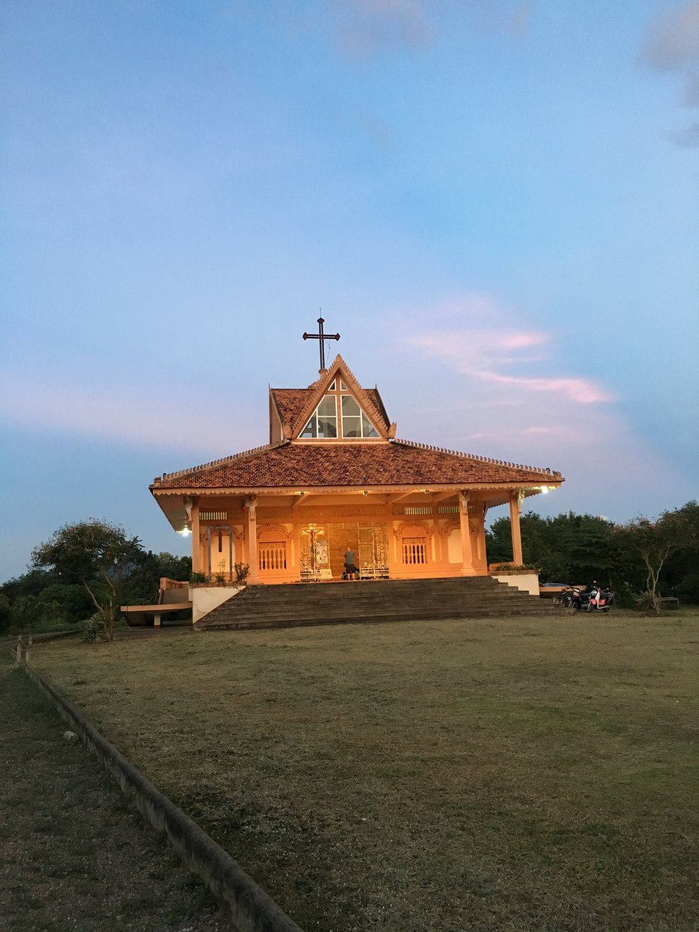 The Marist church in Pailin City, Cambodia. (Credit: Dene-Hern Chen)