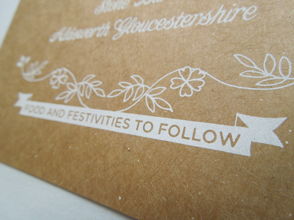 screen printed wedding invitations the private press