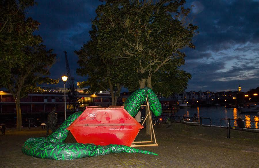 'Jurassic Skip' at the Arnolfini