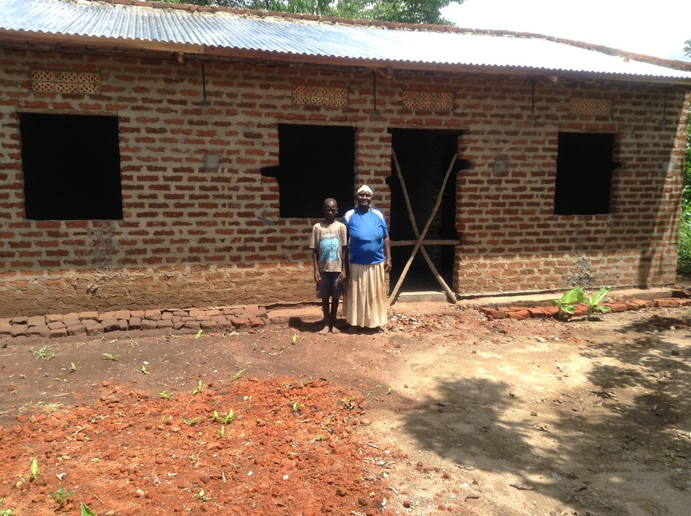 """Granny Mary Nandhego's new home and latrine. So happy and thankful!""IMG_2276 (1).JPG"