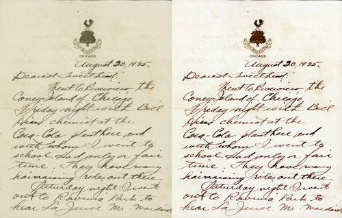 Image processing modern memoirs inc handwritten letter before and afterg spiritdancerdesigns Images