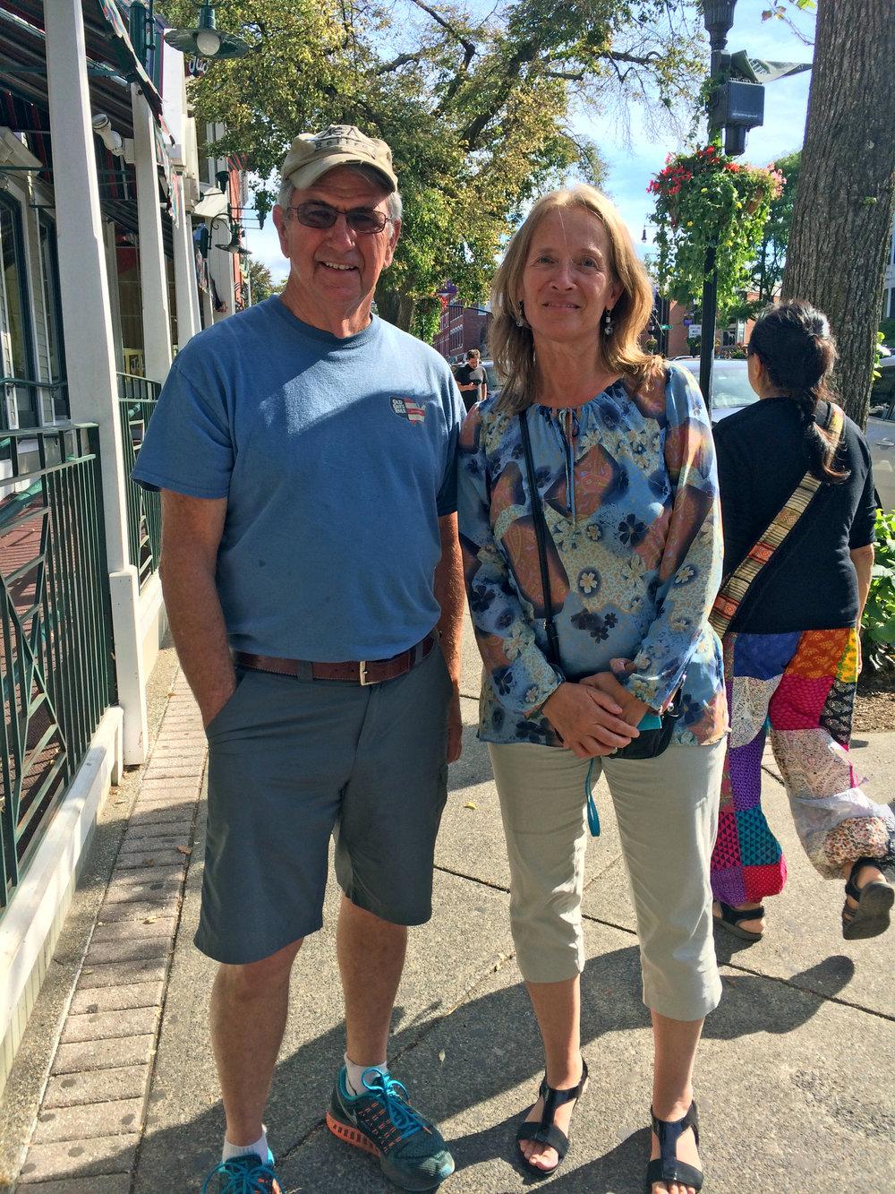 Former client Bob Holliker visits us in Amherst
