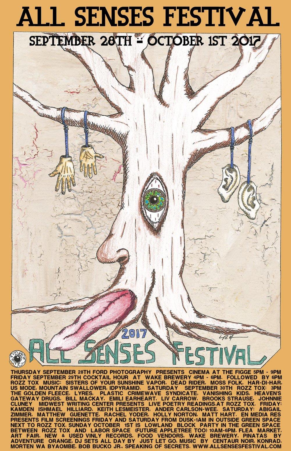 All Senses Poster
