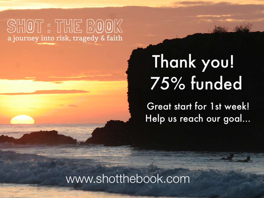 shot the book kickstarter anniversary
