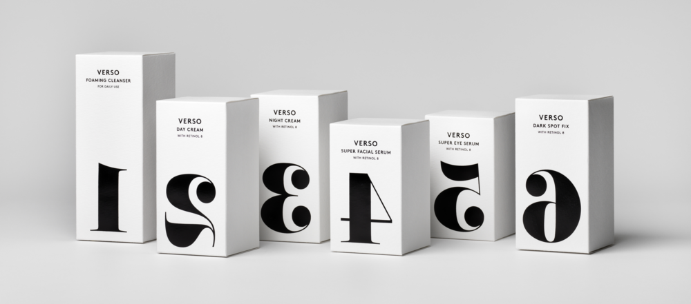 Verso products.