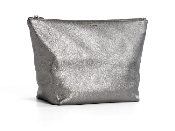 BAGGU Large Stash Clutch in Mineral Leather